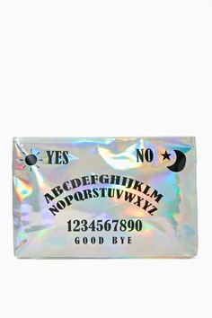 Nasty Gal Cosmic Ouija Clutch