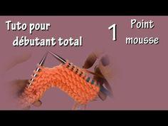 Cours de tricot 1 - Montage simple des mailles - YouTube Tunisian Crochet, Free Crochet, Crochet Stitches Patterns, Stitch Patterns, Crochet Ear Warmer Pattern, Big Knit Blanket, Jumbo Yarn, Use Of Plastic, Big Knits