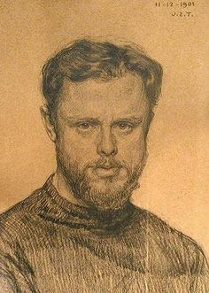 H.W. Mesdag (1831-1915) self portrait.  Creator of Panorama Mesdag in Den Haag, Holland - a superb visual arts experience.
