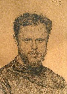 H.W. Mesdag (1831-1915) self portrait.