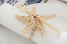 Monkey Knot Place Card Holders | monkey fist knot place card holder by breeze from the west