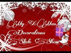 My X-Mas Decorations Slide Show 2015 - YouTube