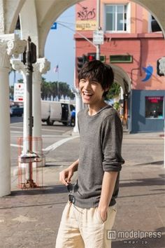 "Sota Fukushi, from photo book w/DVD ""144 hrs in L.A."" Release: Jun. 2015"