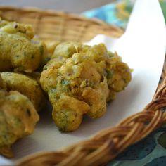 Chicken Pakora with Plum Chutney