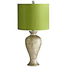 Possible new lamp for living room.  Maybe a little too green though.  And snake like.