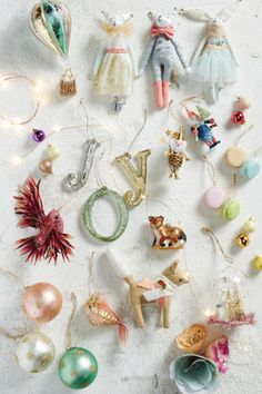 This holiday season, we're crafting and trimming our trees with spun-sugar pastels, cuddly creatures and a sprinkling of star shine, now on the #AnthroBlog #Anthropologie
