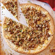 Chicken Sausage, Sweet Onion, and Fennel Pizza Recipe