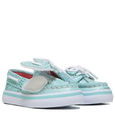 Sperry Top-Sider Seabright Jr Memory Foam Boat Shoe Toddler/Preschool Mint