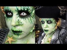 PIRATE HALLOWEEN MAKEUP: Davy Jones
