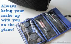 Always bring your make up with you   OrganizingMadeFun.com