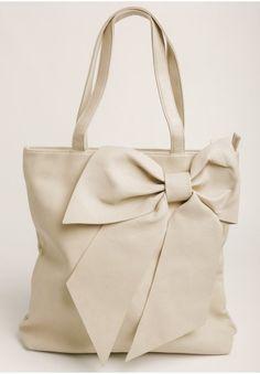 Take Me Everywhere Bow Tote Bag  at shopruche.com