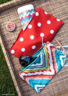 DIY: zipper bags