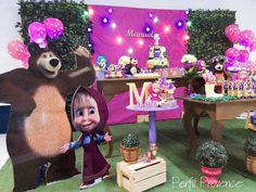 Decoraçao Masha e o Urso Perfil Provence