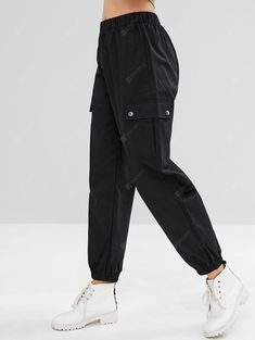 Buy Casual Pocket Cargo Jogger Pants, sale ends soon. Be inspired: discover affordable quality shopping on Gearbest Mobile! Source by Cargo Pants Outfit, Sport Pants, Jogger Pants, Women's Pants, Nike Joggers, Adidas Pants, Ankle Pants, Harem Pants, Stylish Clothes