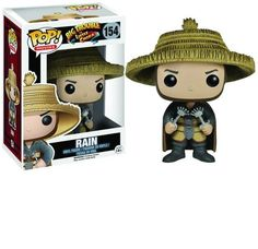 This is a Rain POP Vinyl figure that is produced by Funko. The Rain POP Vinyl figure is part of Funko's Big Trouble in Little China lineup of characters. Rain looks fantastic in his Funko POP Vinyl fo Funko Pop Figures, Vinyl Figures, Action Figures, Vinyl Toys, Funko Pop Vinyl, China Rain, Pop Collection, Pop S, Ebay