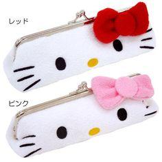 Adorable Hello Kitty pen case! Get these at Rakuten Global Market