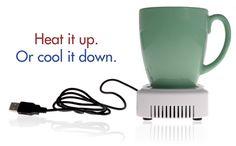 USB cup beverage warmer/cooler