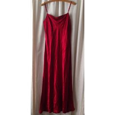 Final Price Jessica Mcclintock Red Satin Dress