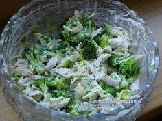 http://core-business.ru Салат из брокколи с курицей на 100грамм - 119.14 ккалБ/Ж/У - 19.25/4.22/1.49 Ингредиенты: Куриная грудка 2 штуки Капуста брокколи 1 штука Твердый сыр нежирный 250 г Соль по...
