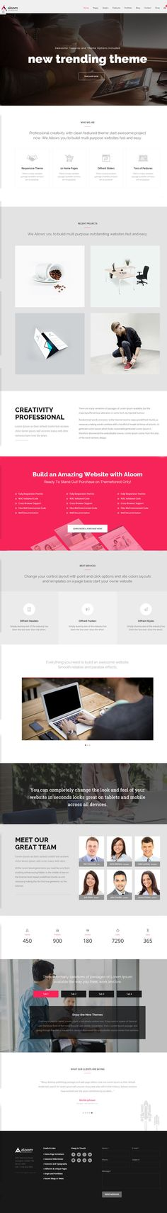 Aloom - Responsive MultiPurpose WordPress Theme