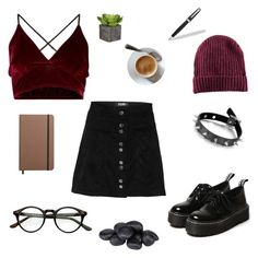 oh dear by stinkhead on Polyvore featuring polyvore, fashion, style, H&M, Shinola, Fountain and clothing