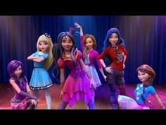 'Good is the New Bad': Learn the Dance Moves Pt.1   Descendants: Wicked World   Disney Channel - YouTube