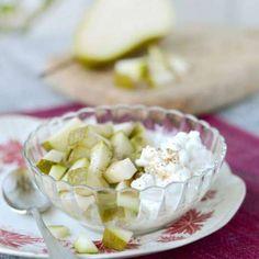 Keso med päron och kardemumma Camembert Cheese, Cabbage, Dairy, Pie, Vegetables, Desserts, Food, Torte, Tailgate Desserts