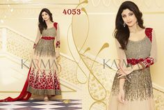 Style: Anarkali SuitWork: Embroidered, Patch Border WorkFabric: Georgette