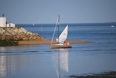 Un day-boat (Bihan 6.50) entrant dans le port de Saint-Denis d'Oléron. #Dayboat #Saintdenisoleron