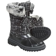 In Solid Black - Khombu Birch Low 2 Winter Pac Boots - Waterproof (For Women) - $74.75