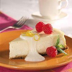 Lemon-Berry Cheesecake   MyRecipes.com