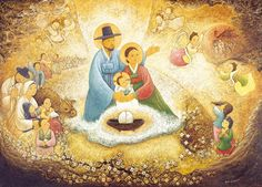 'The Virgin Mary of Peace' with worldwide children (+ more Korean contextualized Christmas paintings) Artist Shim Soon-hwa Catherine of South Korea created this masterful painting as a gift for the. Traditional Stories, Korean Traditional, Christian Art, Christian Living, Jesus Face, Madonna And Child, Blessed Virgin Mary, Christmas Paintings, Holy Family