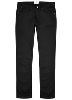 ACNE STUDIOS Ace Stay Cash Slim-Leg Jeans. #acnestudios #cloth ...