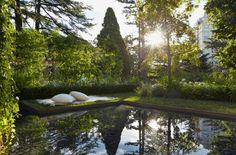 'Ordered Nature': Designed by Gursansky Design based in Victoria, Australia for the 2013 Melbourne International Flower & Garden Show.