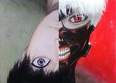 Tokyo Ghoul - Kaneki by Cocolinkaa on DeviantArt