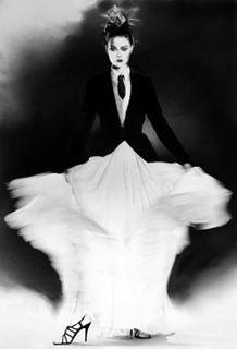 Fashion photographer, Lillian Bassman.