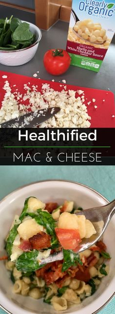 How do you turn a box of mac & cheese into a well-rounded dinner? Our nutritionist shows us how!   Clearly Organic Nutritionist Corner