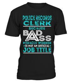 Police Records Clerk