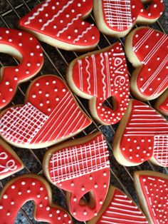 Valentine Cookies for 2013