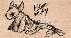 Drawn by Crownflame ... How to train your dragon, toothless, night fury, dragon