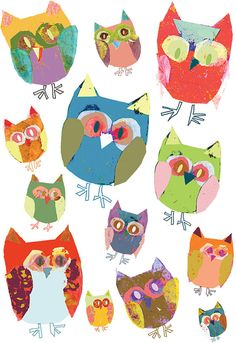 Baby girl nursery art print Owl decor girl by OzscapeDesigns, $18.50