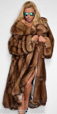 SWINGER RUSSIAN SABLE FUR COAT ZOBEL MANTEL ZOBEL WIE CHINCHILLA MINK NERZ PELZ in Clothes, Shoes & Accessories, Women's Clothing, Coats & Jackets | eBay!
