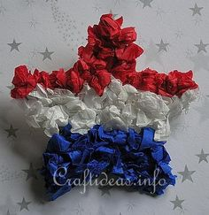 Crafts for Kids*: 4th of July Day Star Pin Craft