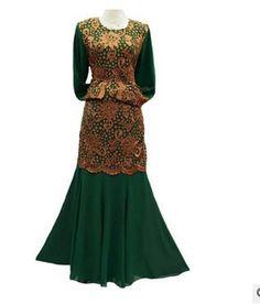 1 pcs/lote livraison gratuite moyen - orient robe longue en dentelle patchwork robe musulmane manches longues en mousseline de soie robe de abaya islamique vêtements