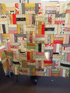 Jelly Roll Quilt - I have 2 rolls of this fabric.... this will be a great pattern for one - or both