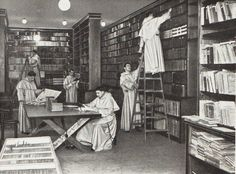 dominicans in the library