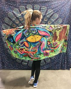 """Super soft 30"""" x 60"""" Printed Beach Towel!... Could also be used as a throw or blanket! Artist: Laura Mcgowan Insta: @LauraMcgowanArt FB: @LauraMcgowanArt"""