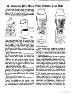 Soil and Water Conservation Activities for Boy Scouts - Google Books-- good conservation science projects!