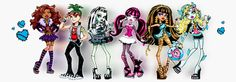Mascotas de Monster High
