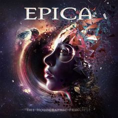 The cover artwork of Epica upcoming album 'The Holographic Principle'